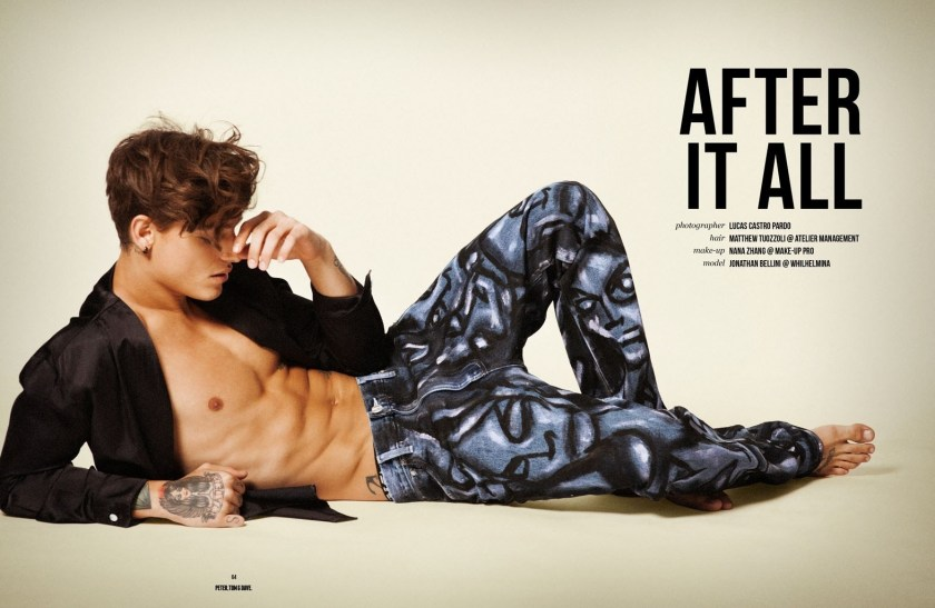 PETER, TOM & DAVE MAGAZINE Jonathan Bellini by Lucas Pardo. Spring 2016, www.imageamplified.com, Image Amplified (1)