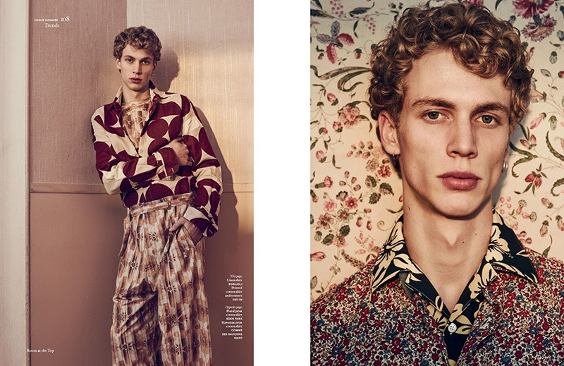 VOGUE HOMMES INTERNATIONAL Robbie G by Sharif Hamza. Darcy Backlar, Spring 2016, www.imageamplified.com, Image Amplified (2)