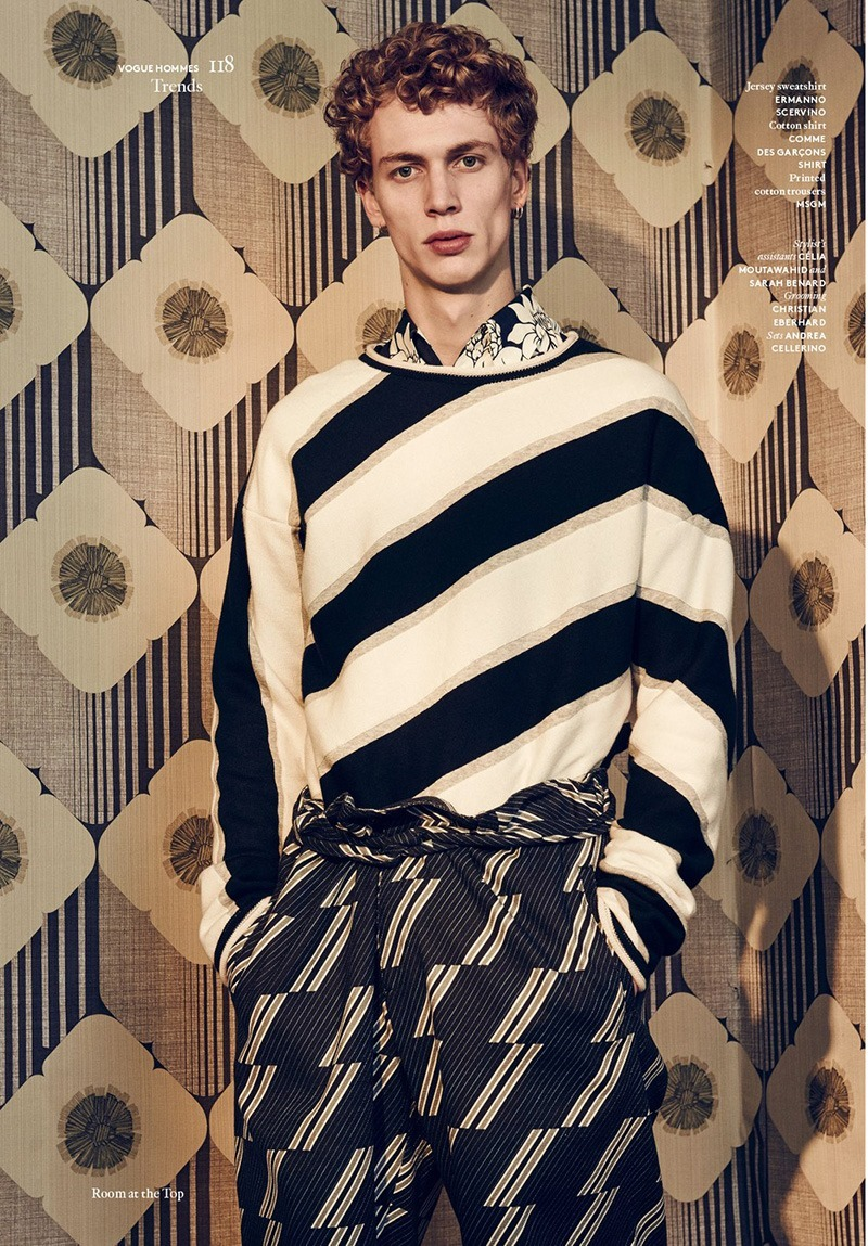 VOGUE HOMMES INTERNATIONAL Robbie G by Sharif Hamza. Darcy Backlar, Spring 2016, www.imageamplified.com, Image Amplified (7)