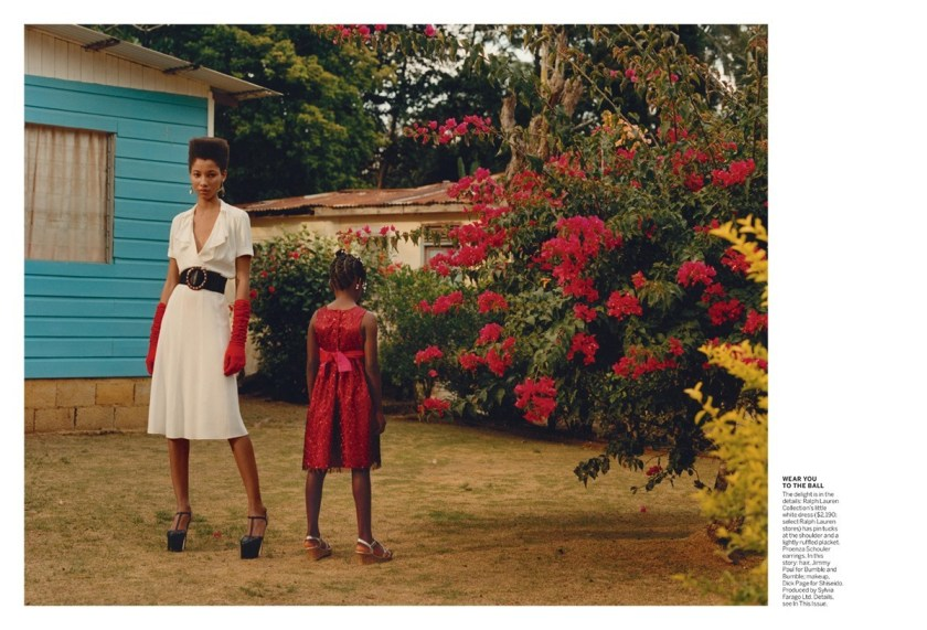 VOGUE MAGAZINE Tami Williams & Lineisy Montero by Jamie Hawkesworth. Grace Coddington, June 2016, www.imageamplified.com, Image Amplified (1)