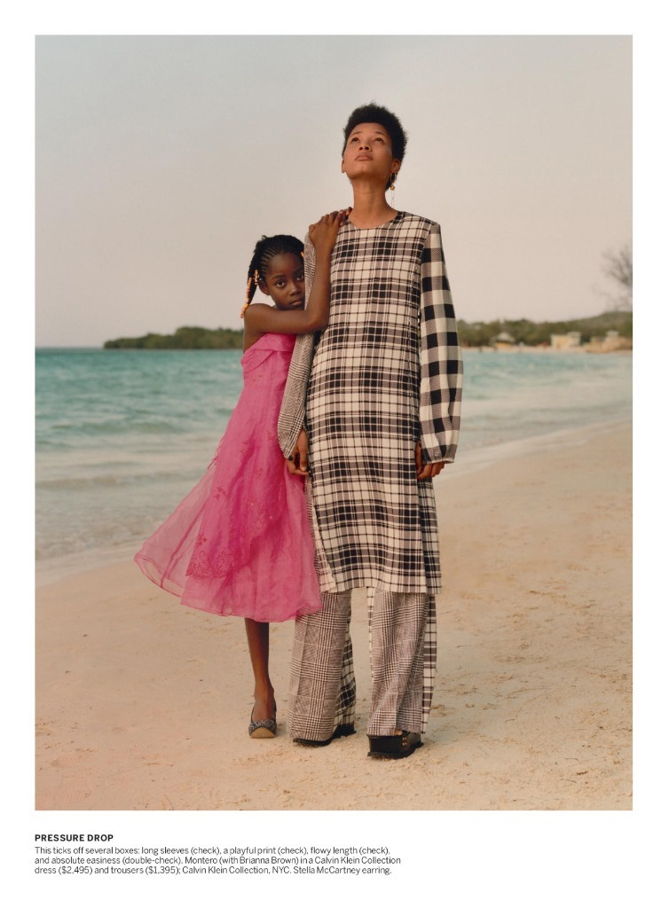 VOGUE MAGAZINE Tami Williams & Lineisy Montero by Jamie Hawkesworth. Grace Coddington, June 2016, www.imageamplified.com, Image Amplified (2)