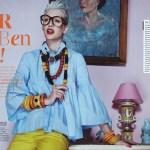 WOMAN MAGAZINE: Nadine Wolfbeisser by Hilde van Mas