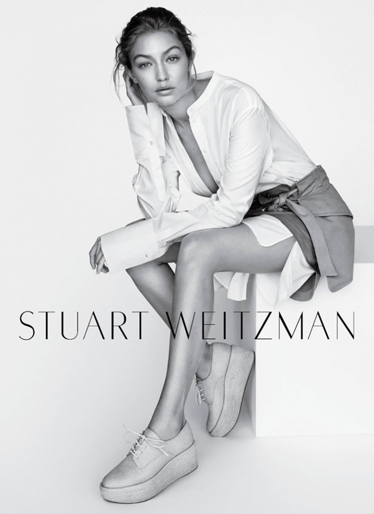 CAMPAIGN Gigi Hadid for Stuart Weitzman Fall 2016 by Mario Testino. www.imageamplified.com, image Amplified (3)