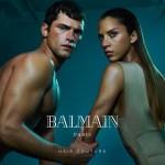 CAMPAIGN: Sean O'Pry & Noemie Lenoir for Balmain Hair Couture Summer 2016 by An Le