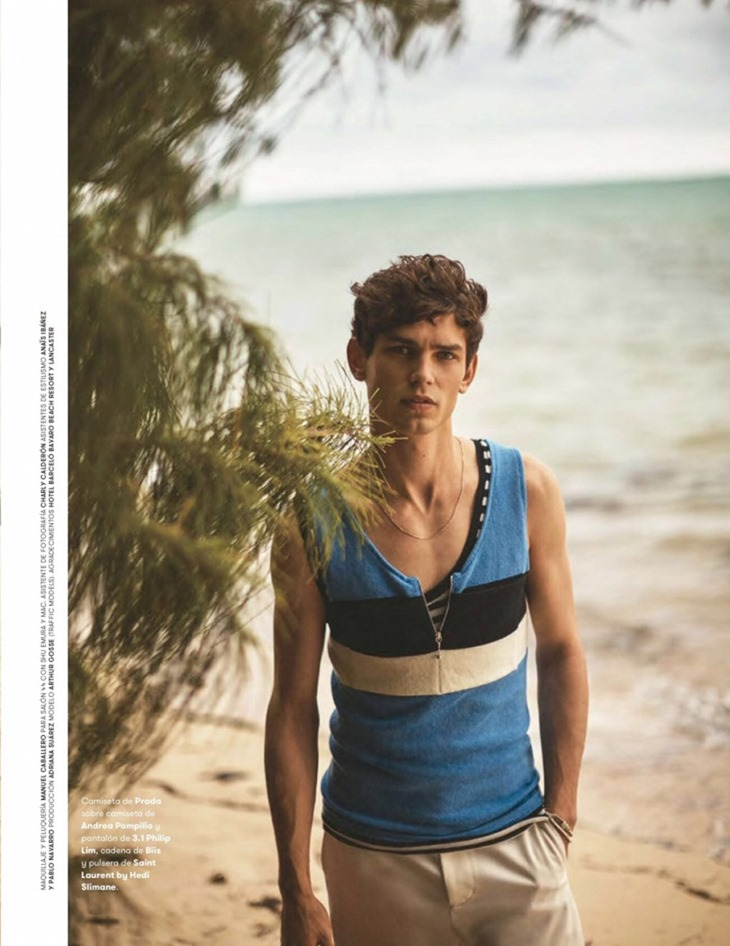 L'OFFICIEL HOMMES SPAIN Arthur Gosse by Alan Chies. Maria Molina, Summer 2016, www.imageamplified.com, Image Amplified (12)