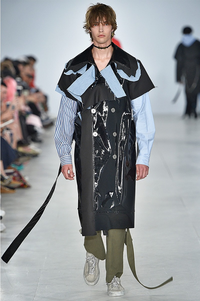 LONDON COLLECTIONS MEN: Zhou Spring 2017. www.imageamplified.com, Image Amplified
