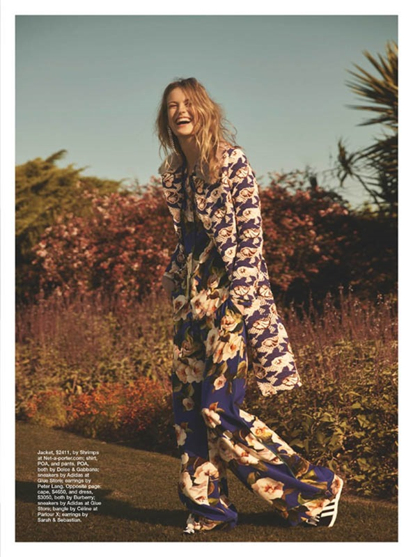 MARIE CLAIRE MAGAZINE Milou Groenewoud by Georges Antoni. Jana Pokorny, Summer 2016, www.imageamplified.com, image Amplified