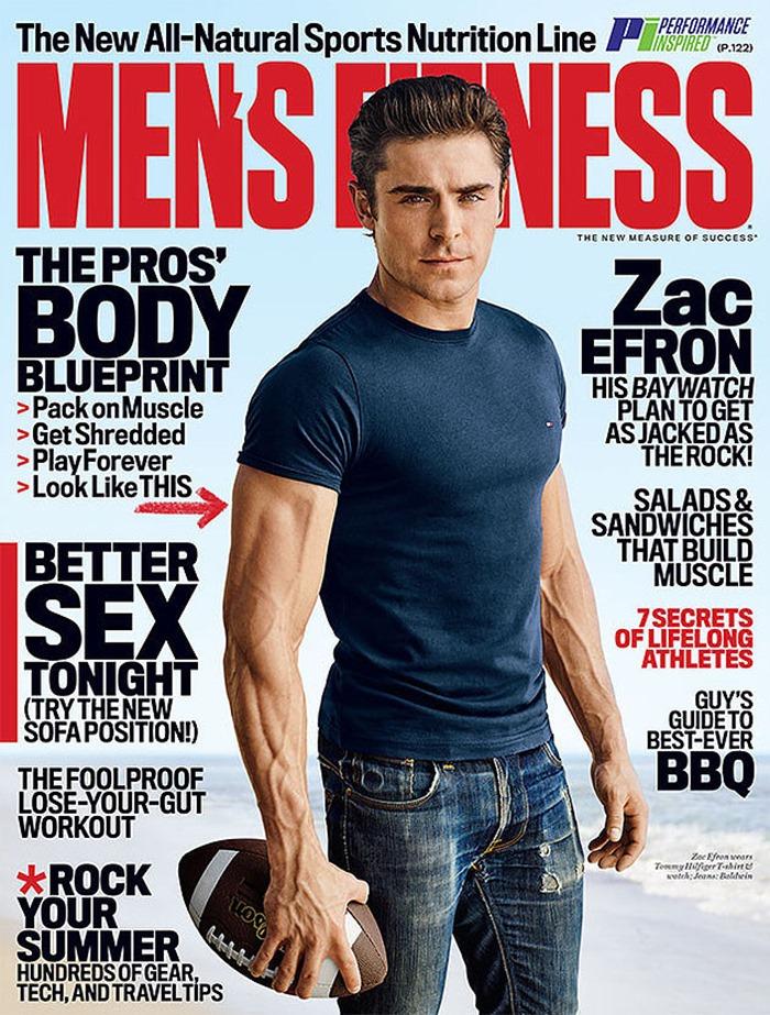 MEN'S FITNESS Zac Efron by Jeff Lipsky. Spring 2016, www.imageamplified.com, Image Amplified (4)
