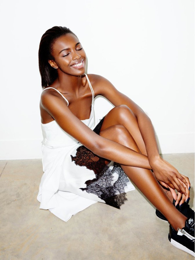 THE OBSERVER Leomie Anderson by Andrew Woffinden. June 2016, www.imageamplified.com, image Amplified (2)
