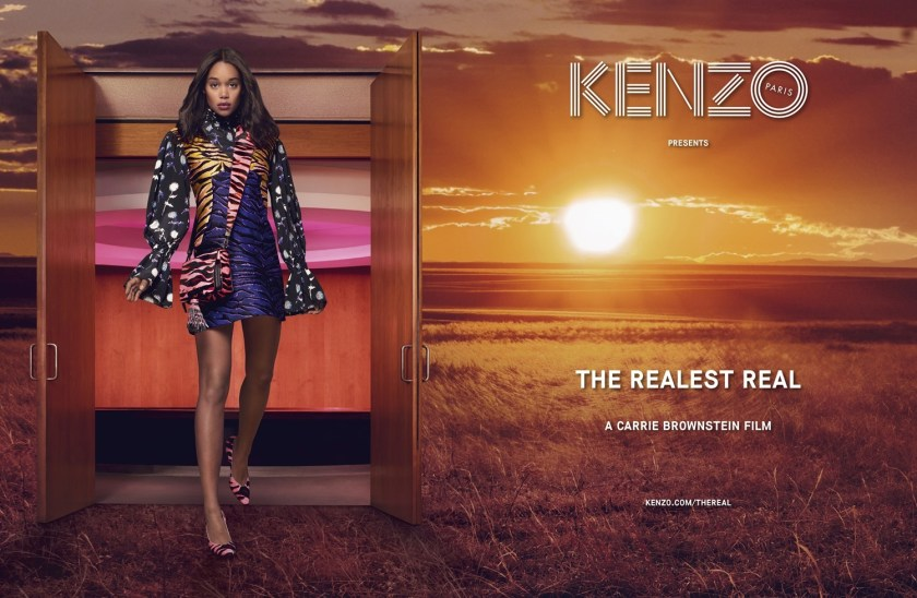 CAMPAIGN Kenzo Fall 2016 by Mark Peckmezian. Shirley Kurata, www.imageamplified.com, Image Amplified1