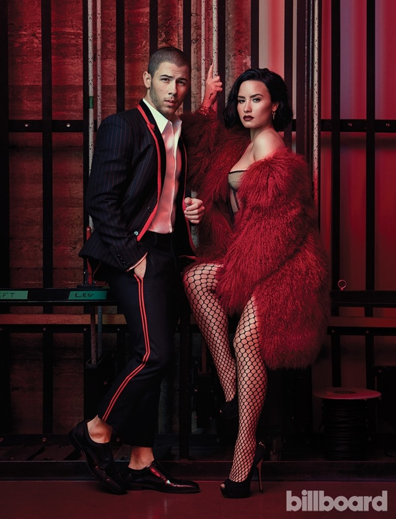 BILLBOARD MAGAZINE Demi Lovato & Nick Jonas by Austin Hargrave. Jeff K Kim, July 2016, www.imageamplified.com, Image Amplified2