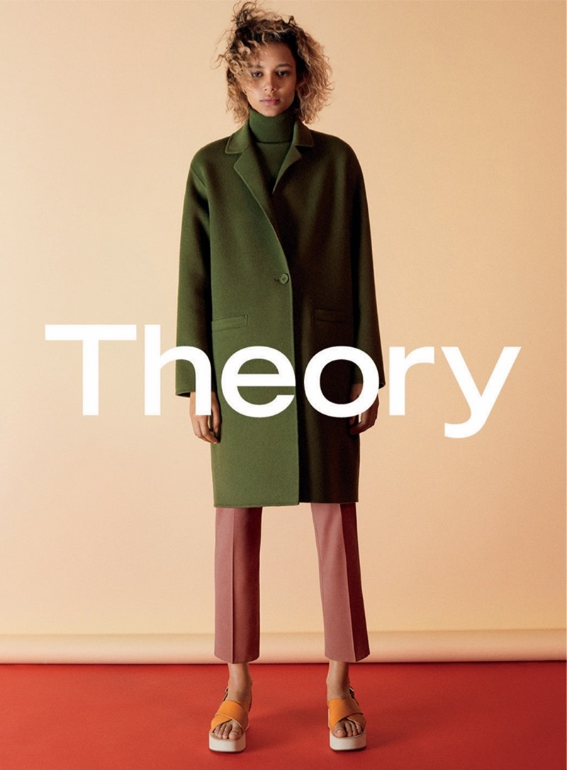 CAMPAIGN Frederikke Sofie & Binx Walton for Theory Fall 2016 by David Sims. www.imageamplified.com, image amplified4