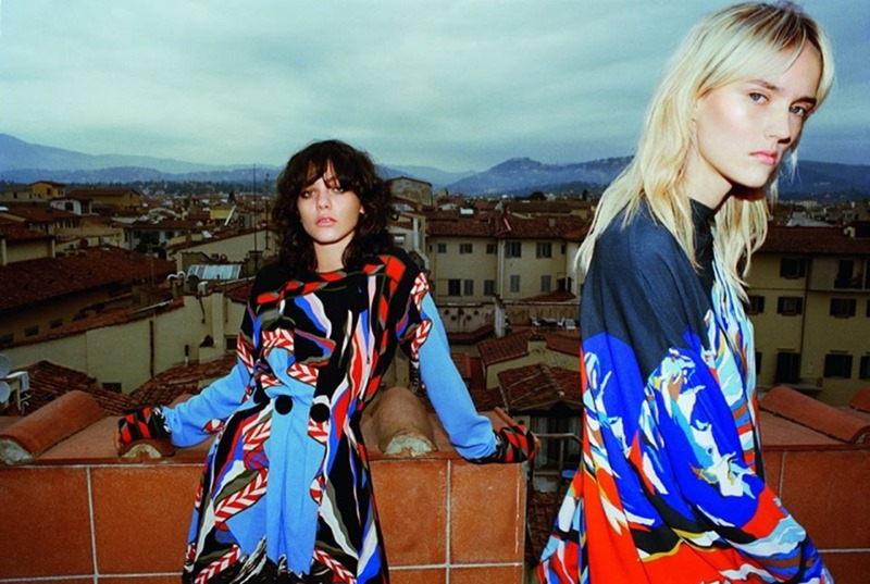 CAMPAIGN Steffy Argelich & Harleth Kuusik for Emilio Pucci Fall 2016 by Cameron McCool. Vittoria Cerciello, www.imageamplified.com, Image Amplified2