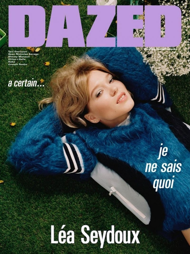DAZED DIGITAL Lea Seydoux by Mark Peckmezian. Katie Shillingford, Fall 2016, www.imageamplified.com, Image Amplified (1)
