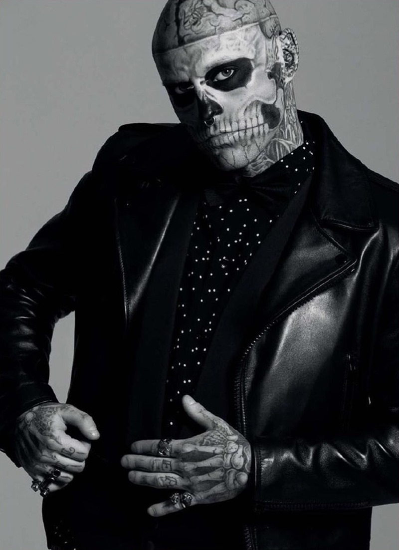 DRESSED TO KILL Rick Genest by Sylvain Blais. Fritz, Summer 2016, www.imageamplified.com, Image Amplified2