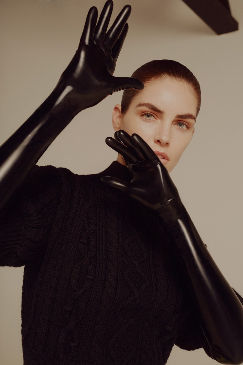 ES MAGAZINE Hilary Rhoda by Liam Warwick. Nicky Yates, July 2016, www.imageamplified.com, Image Amplified2