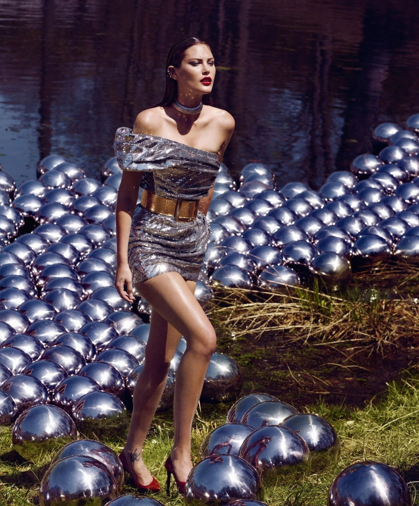 HARPER'S BAZAAR MAGAZINE Catherine McNeil by Kristian Schuller. Dana Kamps, September 2016, www.imageamplified.com, Image Amplified2
