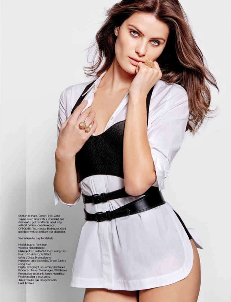 HARPER'S BAZAAR SINGAPORE Isabeli Fontana by Yu Tsai. Kemal Harris, August 2016, www.imageamplified.com, Image Amplified8
