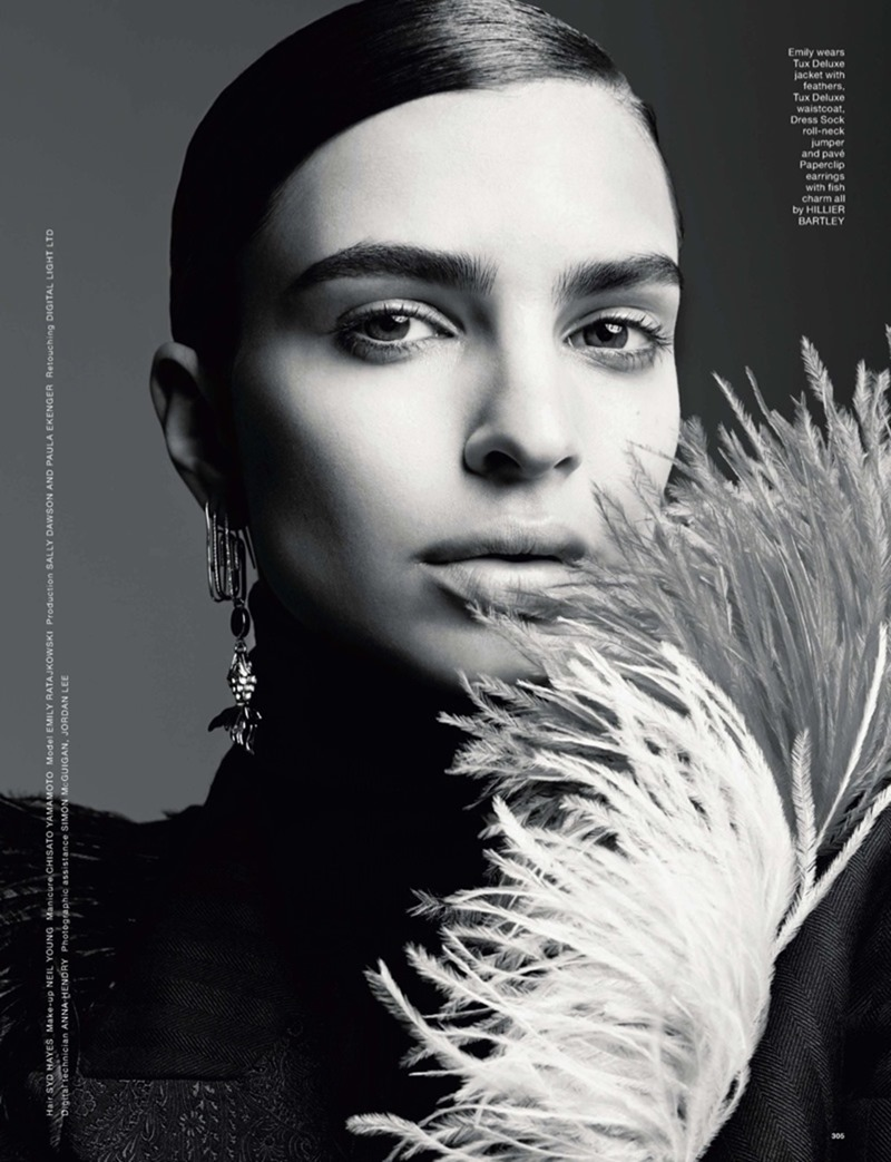 LOVE MAGAZINE Emily Ratajkowski by Solve Sundsbo. Steve Morriss, Fall 2016, www.imageamplified.com, Image Amplified3