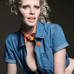 LOVE MAGAZINE: Lara Stone by Liz Collins