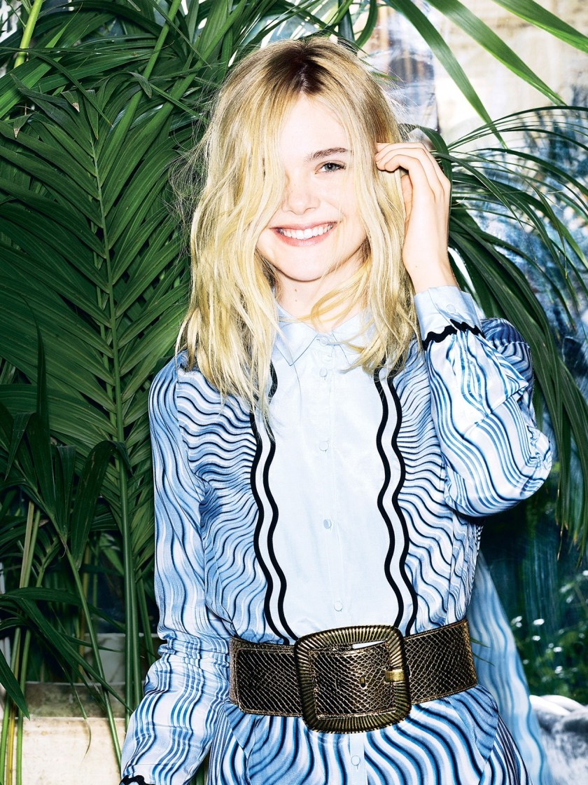 THE SUNDAY TIMES STYLE Elle Fanning by Aitken Jolly. Flossie Saunders, June 2016, www.imageamplified.com, Image Amplified