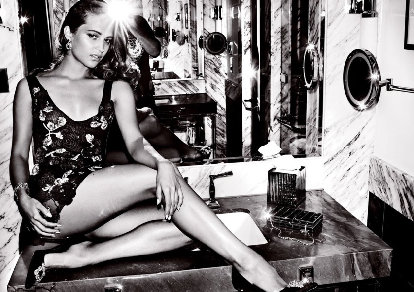 VANITY FAIR MAGAZINE Alicia Vikander by Mario Testing. Jessica Diehl, September 2016, www.imageamplified.com, Image Amplified6