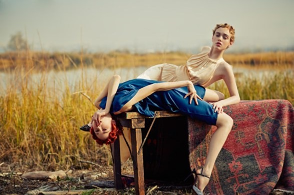 VOGUE BRAZIL Rhiannon McConnell & Cece Post by Hao Zeng. Anna Katsanis, Fall 2016, www.imageamplified.com, image Amplified5