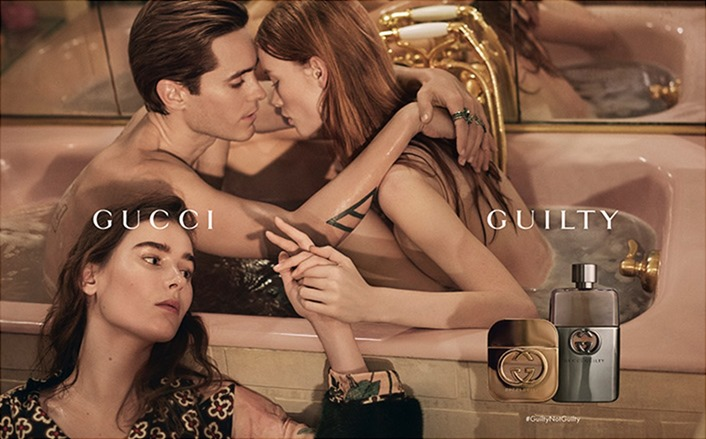 CAMPAIGN Jared Leto, Vera Van Erp & Julia Hafstrom for Gucci Guilty 2016. www.imageamplified.com, Image Amplified