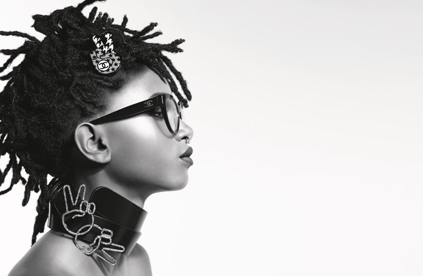 CAMPAIGN Willow Smith for Chanel Eyewear Fall 2016 by Karl Lagerfeld. Carine Roitfeld, www.iamgeamplified.com, Image Amplified (5)