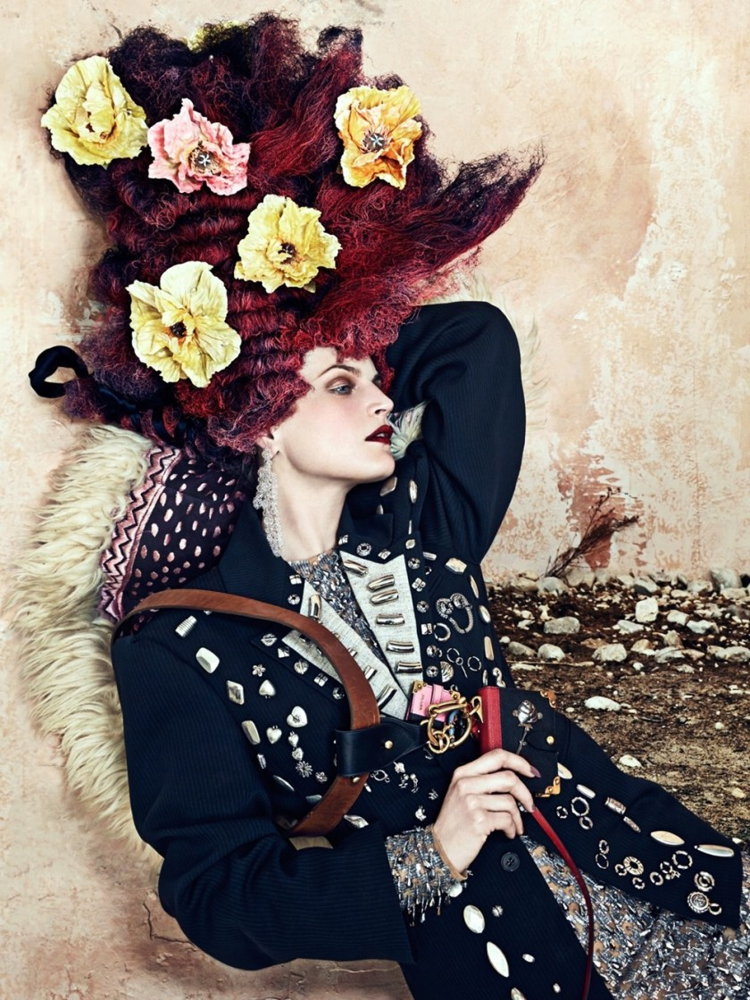 CR FASHION BOOK Guinevere van Seenus by Bjorn Iooss. Carine Roitfeld, Fall 2016, www.imageamplified.com, Image Amplified (5)