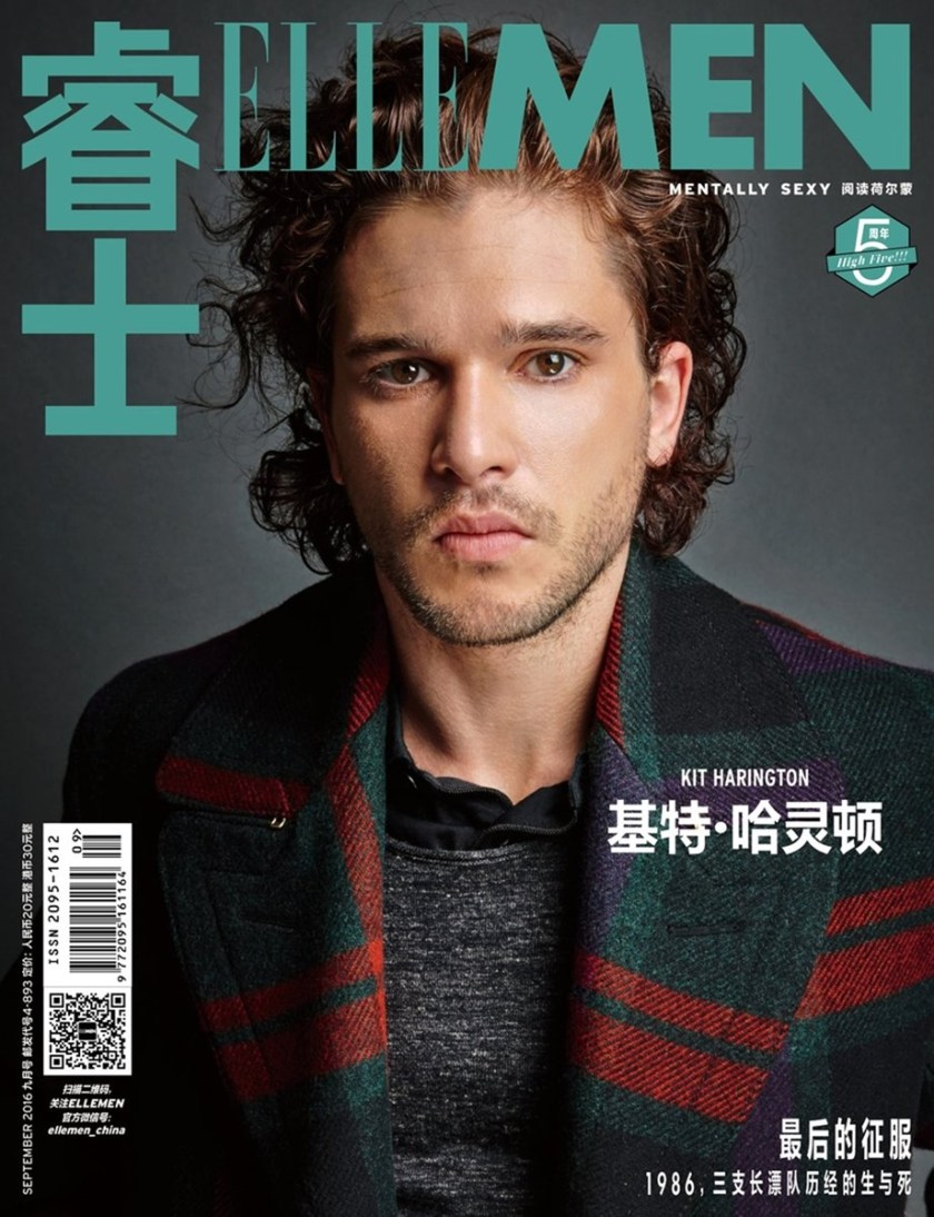 ELLE MEN CHINA Kit Harington by Nigel Parry. Fall 2016, www.imageamplified.com, Image Amplified (2)