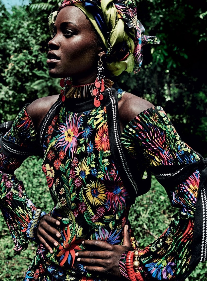 VOGUE MAGAZINE Lupita Nyong'o by Mario Testino. Tonne Goodman, October 2016, www.imageamplified.com, Image Amplified (3)