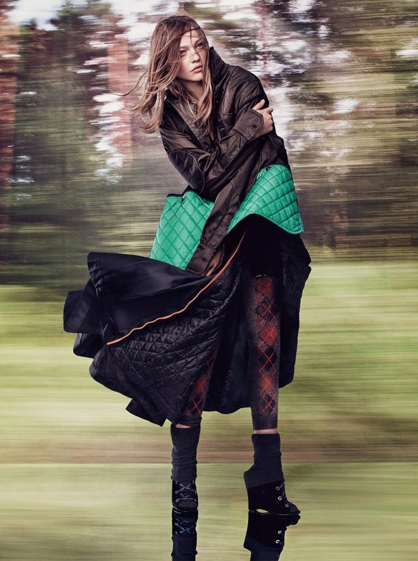 VOGUE UK Sasha Pivovarova by Craig McDean. Kate Phelan, October 2016, www.imageamplified.com, Image Amplified (12)