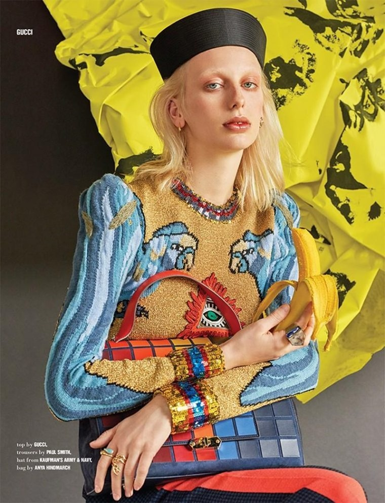 10 MAGAZINE Hannelore Knuts, Lida Fox & Lili Sumner by Horst Diekgerdes. Hannelore Knuts, Fall 2016, www.imageamplified.com, Image Amplified (4)