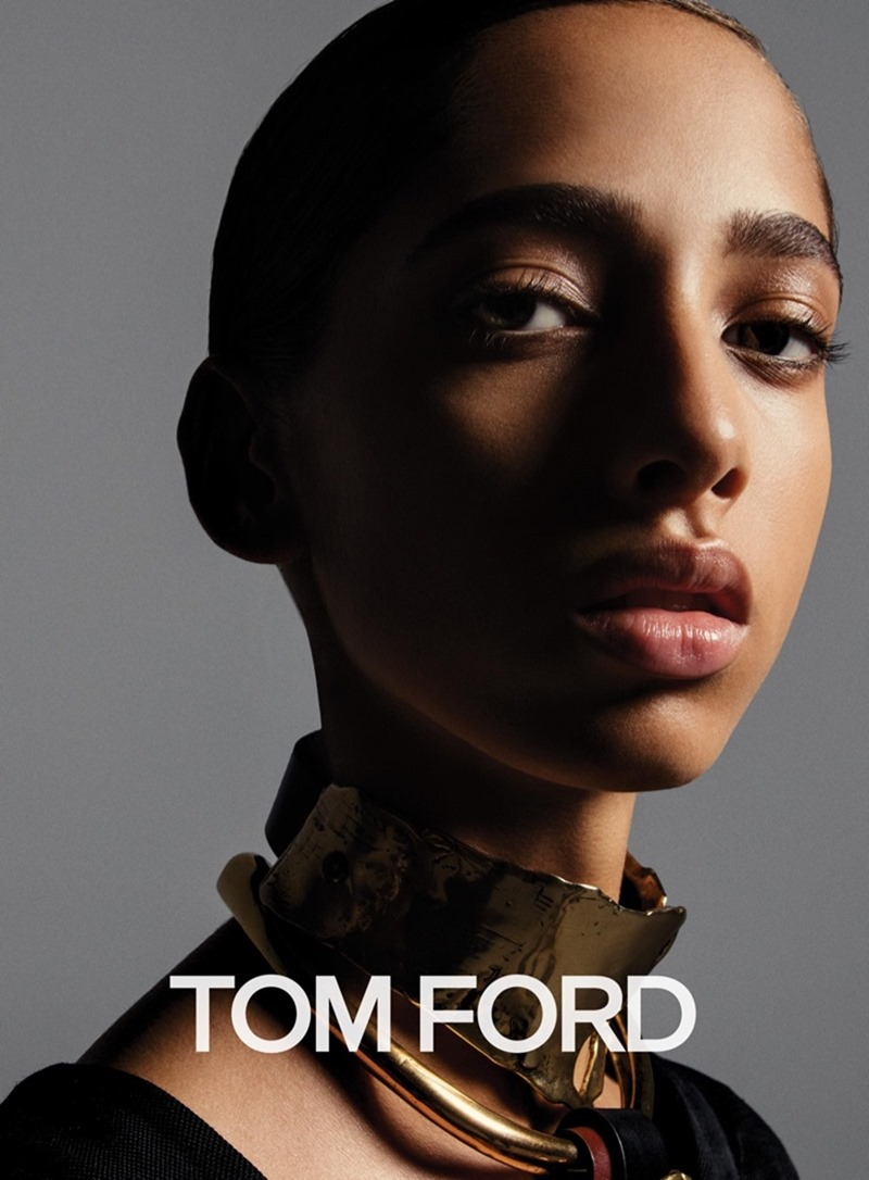 CAMPAIGN Grace Hartzel, Amilna Estevao & Yasmin Wijnaldum for Tom Ford Fall 2016 by Inez & Vinoodh. Carine Roitfeld, www.imageamplified.com, Image Amplified1