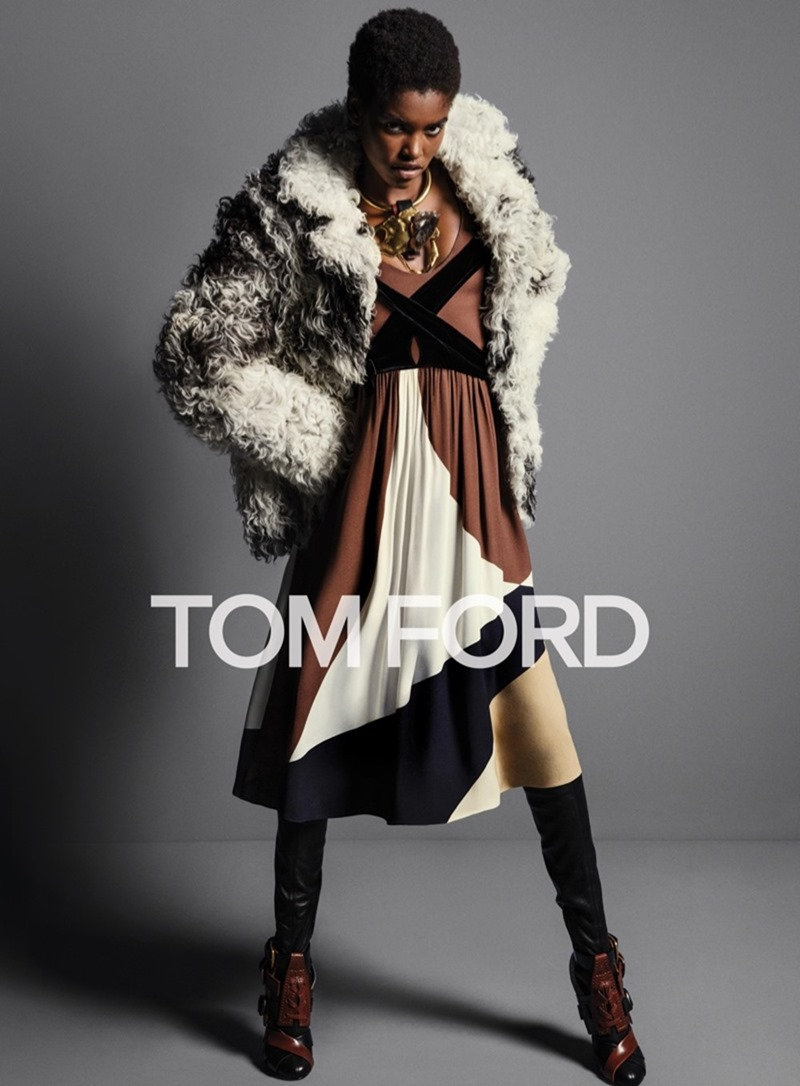 CAMPAIGN Grace Hartzel, Amilna Estevao & Yasmin Wijnaldum for Tom Ford Fall 2016 by Inez & Vinoodh. Carine Roitfeld, www.imageamplified.com, Image Amplified6
