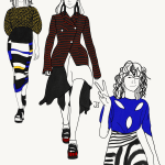FASHION ILLUSTRATION: New York Fashion Week Spring/Summer 2017 by JET