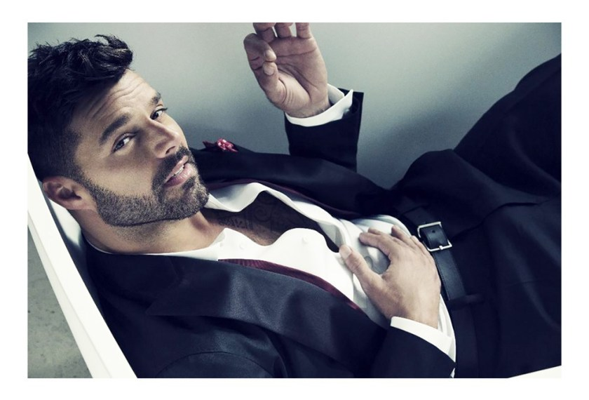 GAY TIMES MAGAZINE Ricky Martin by Nino Munoz. Fall 2016, www.imageamplified.com, Image Amplified1
