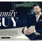 GAY TIMES MAGAZINE: Ricky Martin by Nino Munoz