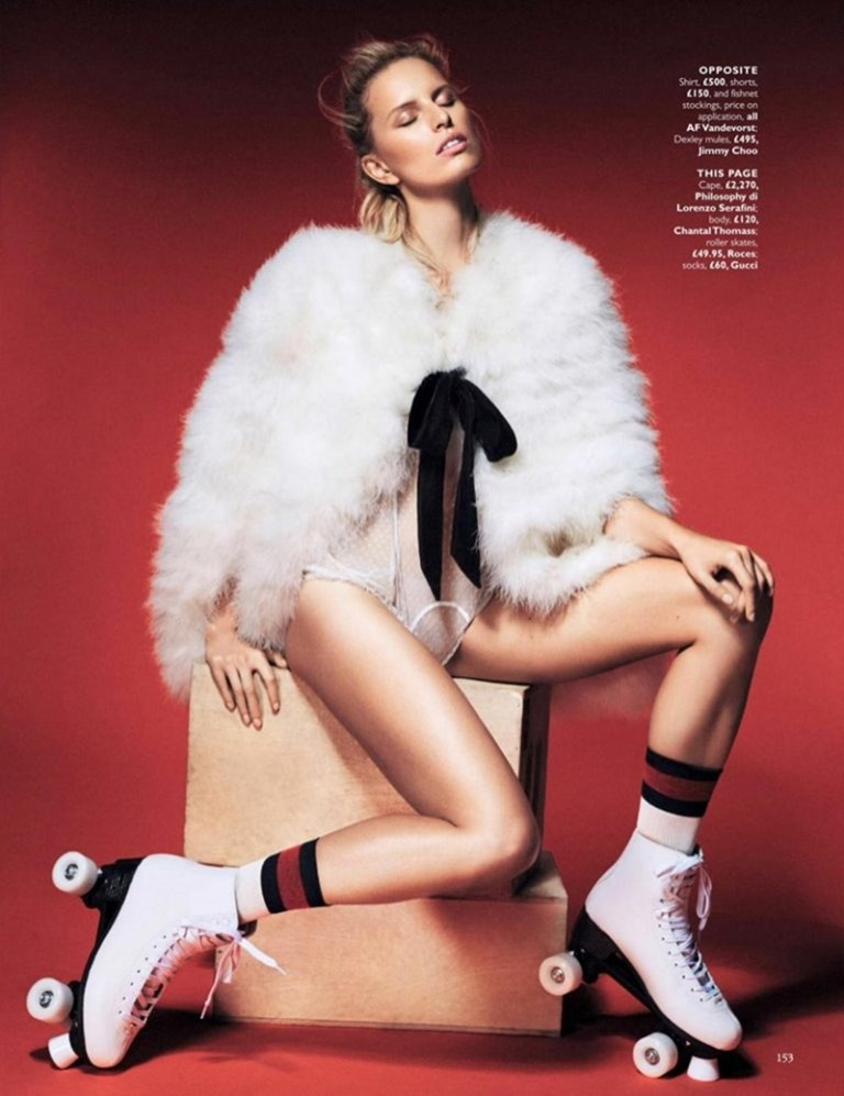 GRAZIA UK Karolina Kurkova by Alex Bramall. Natalie Wansbrough Jones, September 2016, www.imageamplified.com, Image Amplified (7)