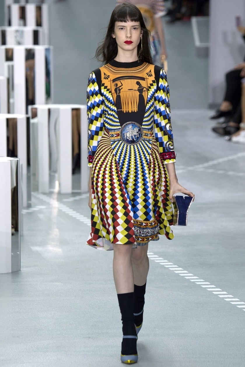 LONDON FASHION WEEK Mary Katrantzou Spring 2017. www.imageamplified.com, Image Amplified (2)