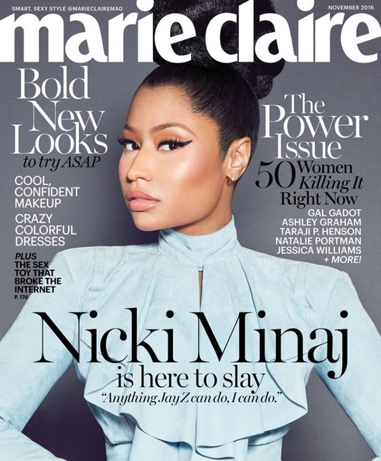 MARIE CLAIRE MAGAZINE Nicki Minaj by Kai Z Feng. November 2016, www.imageamplified.com, Image Amplified (1)