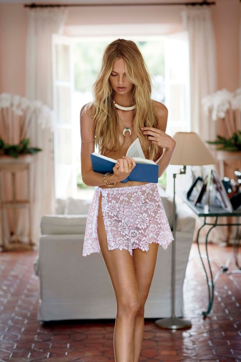 MAXIM MAGAZINE Romee Strijd by Gilles Bensimon. Caroline Christiansson, October 2016, www.imageamplified.com, Image Amplified5