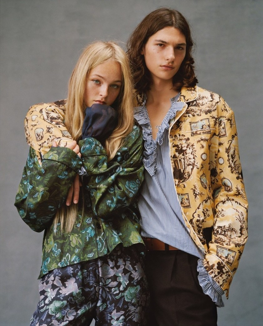 MODERN WEEKLY CHINA Jean Campbell & Alex Dragulele by Ben Weller. Klaire Chen, October 2016, www.imageamplified.com, Image Amplified (2)