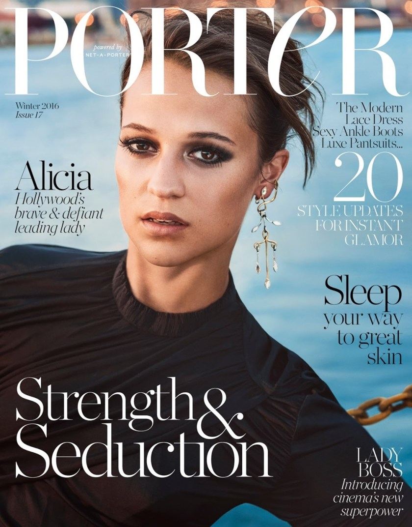 PORTER MAGAZINE Alicia Vikander by Ryan McGinley. George Cortina, Fall 2016, www.imageamplified.com, Image Amplified11