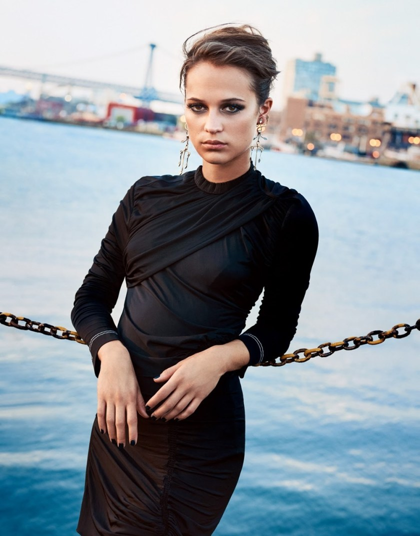 PORTER MAGAZINE Alicia Vikander by Ryan McGinley. George Cortina, Fall 2016, www.imageamplified.com, Image Amplified3