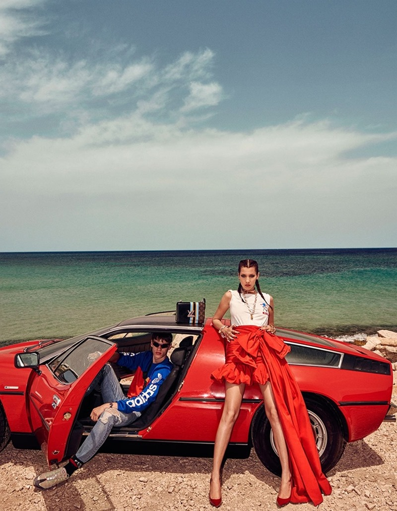 VOGUE JAPAN Bella Hadid & Filip Hrivnak by Giampaolo Sgura. Anna Dello Russo, November 2016, www.imageamplified.com, Image Amplified13