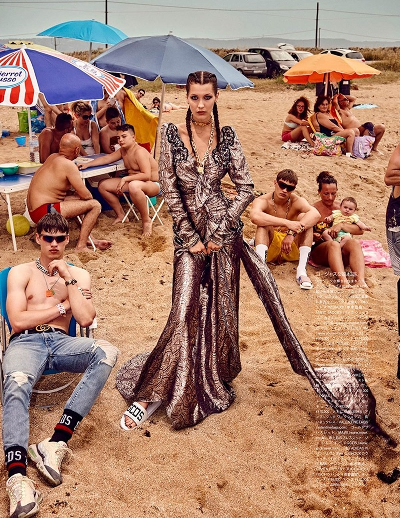 VOGUE JAPAN Bella Hadid & Filip Hrivnak by Giampaolo Sgura. Anna Dello Russo, November 2016, www.imageamplified.com, Image Amplified8