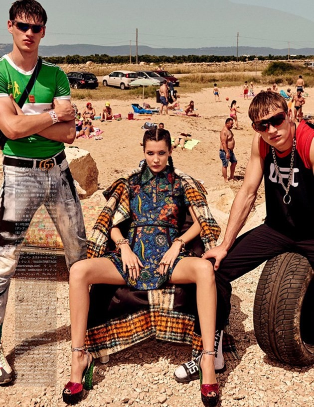 VOGUE JAPAN Bella Hadid & Filip Hrivnak by Giampaolo Sgura. Anna Dello Russo, November 2016, www.imageamplified.com, Image Amplified2