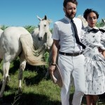 VOGUE MAGAZINE: Ruth Negga & Joel Edgerton by Mario Testino